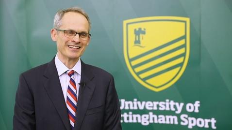 Thumbnail for entry Robert Clift – University of Nottingham Sport Hall of Fame