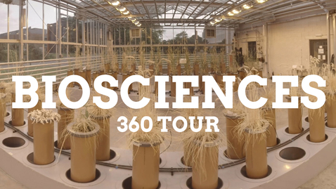 Thumbnail for entry Biosciences 360 facilities tour
