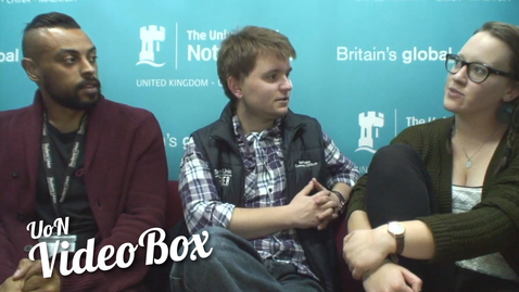 Thumbnail for entry What did you want to be when you were younger? | #UoNVideoBox