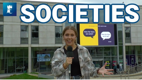 Thumbnail for entry Vlog: Societies at the University of Nottingham