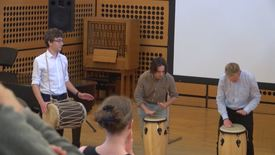 Thumbnail for entry Open days: music drumming sessions