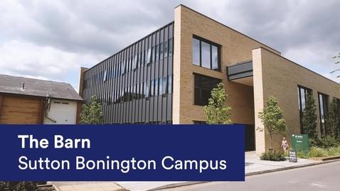 Thumbnail for entry The Barn at Sutton Bonington Campus