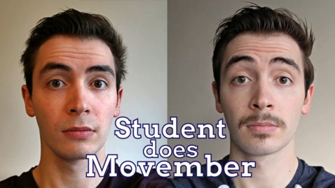 Thumbnail for entry Uni of Nottingham Student Does Movember 👨