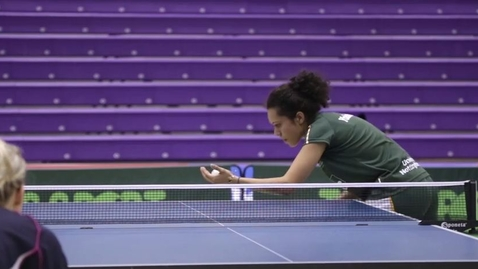 Thumbnail for entry Table Tennis BUCS Big Wednesday highlights