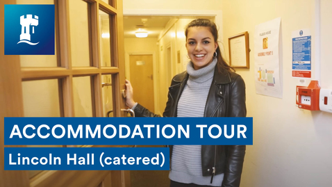 Thumbnail for entry Uni Park Campus - Lincoln Hall (catered accommodation)