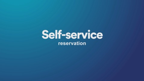 Thumbnail for entry Self-service Reservations in our libraries