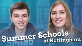 Thumbnail for entry Vlog: Gemma & Zach's top 3 things about Summer School at Nottingham