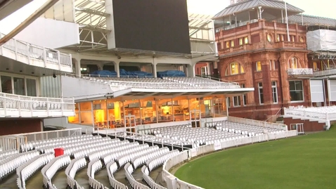 Thumbnail for entry Lord's Cricket Ground sport reception highlights