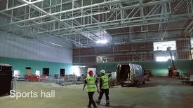 Thumbnail for entry David Ross Sports Village - construction update