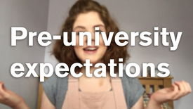 Thumbnail for entry Vlog: Pre-university expectations