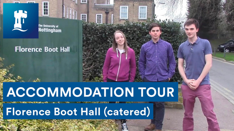 Thumbnail for entry Vlog: Florence Boot Hall tour