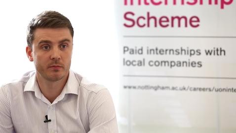 Thumbnail for entry Go Dine, Nottingham Internship Scheme