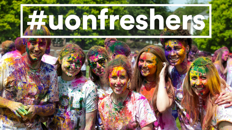 Thumbnail for entry Welcome #UoNFreshers!