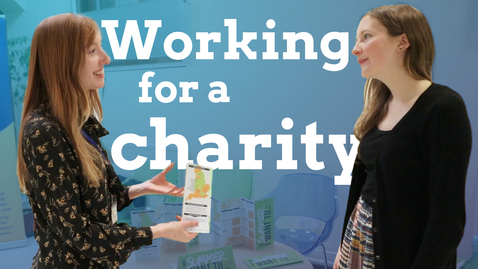 Thumbnail for entry How to get a job with a charity
