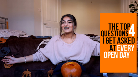 Thumbnail for entry Vlog: FOUR QUESTIONS I get asked at EVERY OPEN DAY