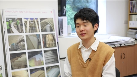 Kangli Zheng, BArch architecture graduate and RIBA President's bronze medal winner