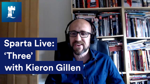 Thumbnail for entry Sparta Live: Three with Kieron Gillen