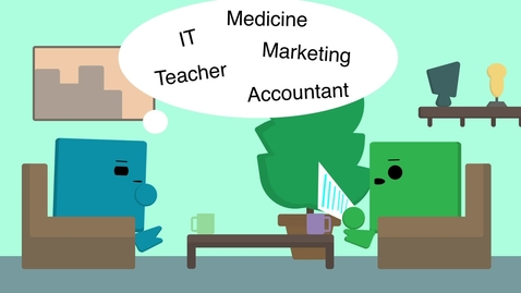 Thumbnail for entry Not sure what career will suit you? Find out how  to get started