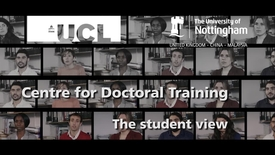 Thumbnail for entry Centre for Doctoral Training in Advanced Therapeutics and Nanomedicines