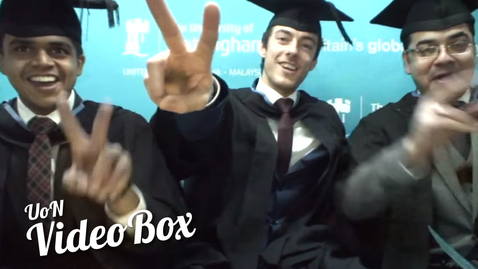 Thumbnail for entry What our international graduates will miss most | #UoNVideoBox