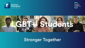 Thumbnail for entry LGBT+ Students - Stronger Together
