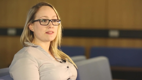 Thumbnail for entry Amy Prosser, PhD alumna talks about the skills she uses in her role as a senior scientist