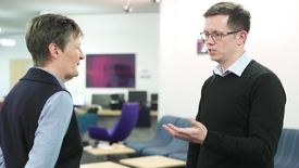 Thumbnail for entry Dr Alasdair Taylor, chemistry alumnus offers advice to PhD students leaving academia