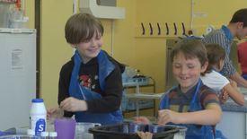 Future scientists explore food with ScienceJennie