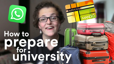Thumbnail for entry Vlog: Preparing for uni