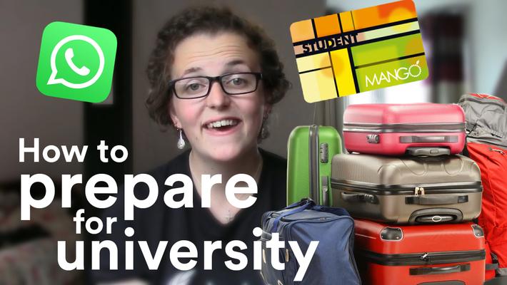 Vlog: Preparing for uni