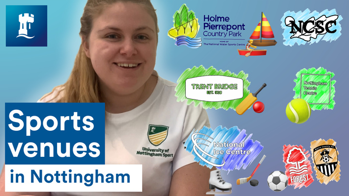 Vlog: Sports venues in Nottingham