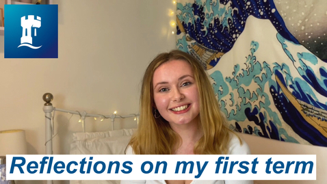 Thumbnail for entry Vlog: My first term at uni during a global pandemic