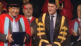 Thumbnail for entry Honorary Graduate 2014 - John Timpson - Dr of Laws