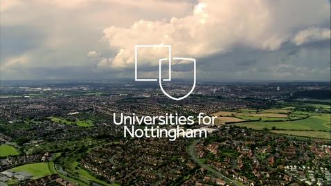 Thumbnail for entry #UnisForNottingham | Universities for Nottingham