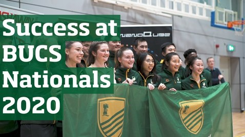 Thumbnail for entry BUCS Nationals 2020 | University of Nottingham Sport
