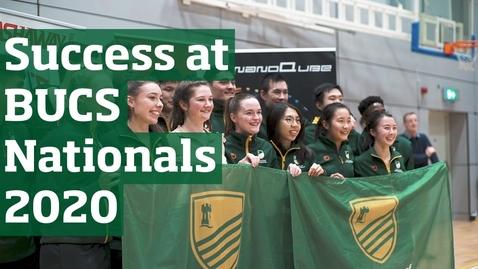 Thumbnail for entry BUCS Nationals 2020 | University of Nottingham Sport