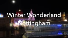 Thumbnail for entry Vlog: Nottingham Winter Wonderland 2016