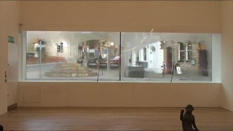 Thumbnail for entry Our experts make it rain inside Nottingham Contemporary!