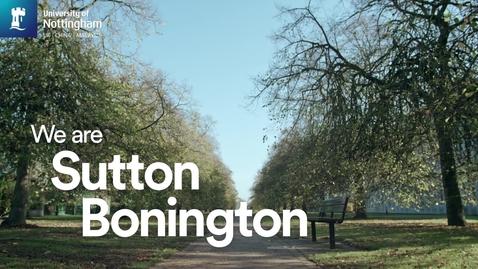 Thumbnail for entry Sutton Bonington Experience