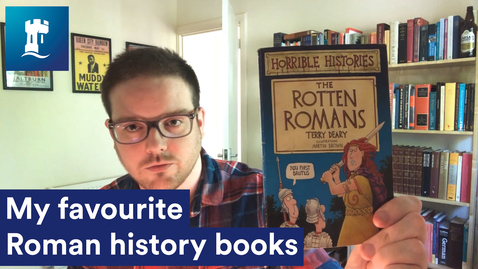 Thumbnail for entry Dr Matt Myers - My Favourite Roman History Books