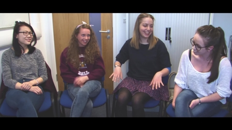 Thumbnail for entry Women in Maths - The Undergraduate Students