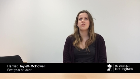 Thumbnail for entry History in a Minute - Harriet Haylett-McDowell