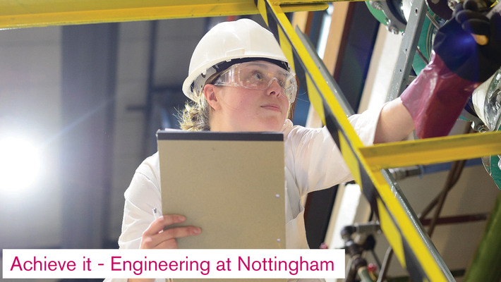 Achieve it - Engineering at Nottingham