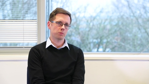 Thumbnail for entry Dr Alasdair Taylor, PhD alumnus - moving into commercialising research