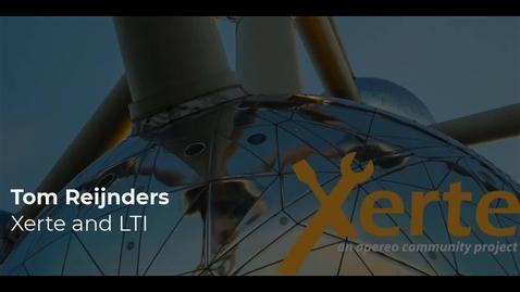Thumbnail for entry Tom Reijnders - Xerte and LTI