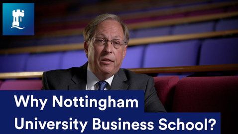 Thumbnail for entry Dean of Business School - why NUBS