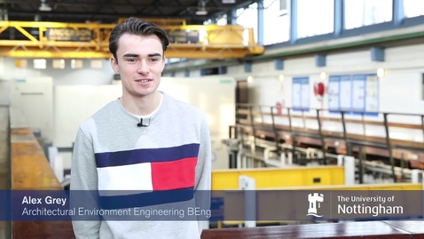 Alex, Future Engineer at The University of Nottingham