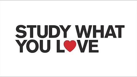 Thumbnail for entry Study What You Love - Andy Fisher