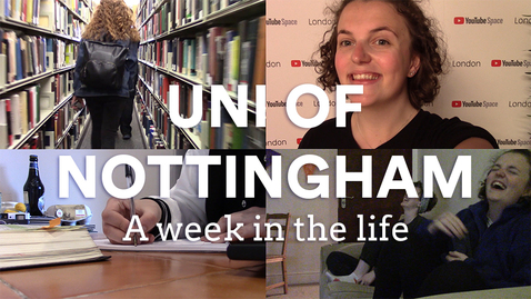 Thumbnail for entry Vlog: A week in the life at NOTTINGHAM UNI