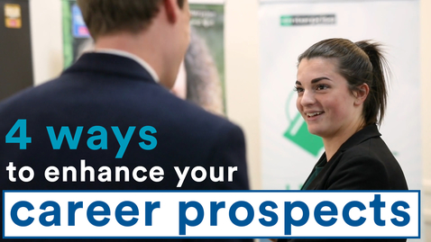 Thumbnail for entry Four ways to enhance your career prospects